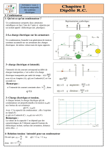 Cours 1 dipole RC