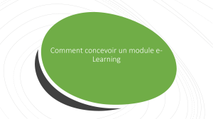 Comment concevoir un module e-learning efficace