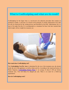 What is CoolSculpting and what are its result