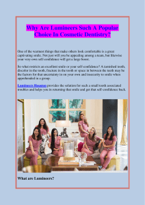 Why Are Lumineers Such A Popular Choice In Cosmetic Dentistry