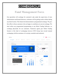 Fund Management Forex