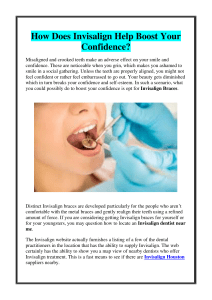 How Does Invisalign Help Boost Your Confidence