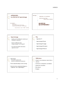 Théories apprentissage powerpoint