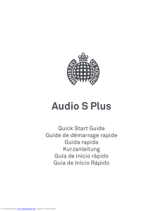 Ministry of Sound Audio S Plus