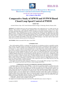 25 Comparative Study of SPWM and SVPWM
