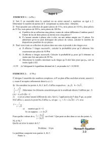 exercices de math sup