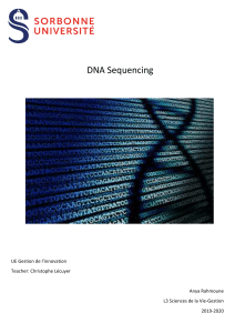 DNA sequencing technology