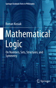2018 Book Mathematical Logic