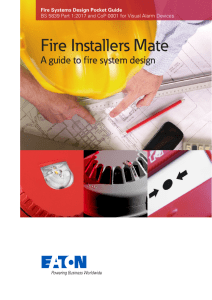 Eaton Fire Installers Mate Systems Design Guide 0118