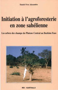 initiation à l'agroforesterie en zone sahelienne