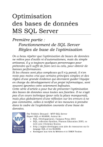 OptimisationBasesDeDonneesMicrosoftSQLserver1