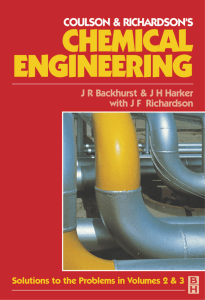 Coulson J.M., Richardson J.F., Backerhurst J.R., Harker J.H. - Coulson&Richardson's Chemical Engineering. V.5. Solutions to the Problems in Chemical Engineering from Volume 2 (5th Edition) and Volume 3 (3rd Edition)