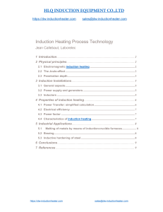 induction heating principle and applications