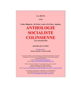 anthologie socialiste 1