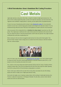 A Brief Introduction About Aluminium Die Casting Procedure-converted (1)