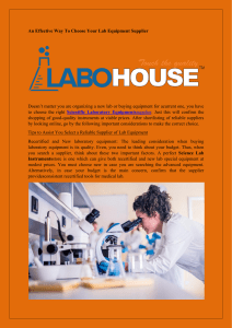 An Effective Way To Choose Your Lab Equipment Supplier-converted (1)