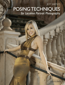 Posing Techniques for Location Portrait Photography by Jeff Smith