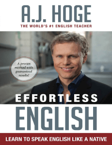 Effortless English  Learn To Speak English Like A Native