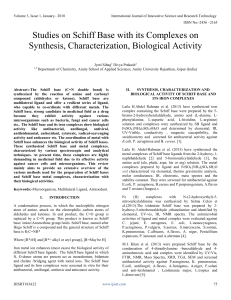 369112887-Studies-on-Schiff-Base-With-Its-Complexes-on-Synthesis-Characterization-Biological-Activity