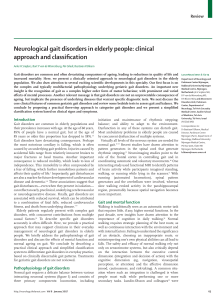 Neurological gait disorders in elderly people  Clinical approach and classification