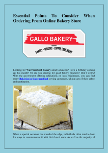 Essential Points To Consider When Ordering From Online Bakery Store-converted