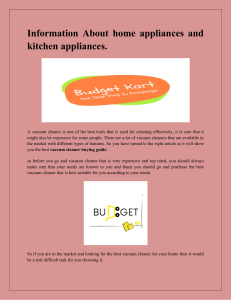 Information About home appliances and kitchen appliances-converted