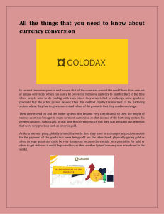 All the things that you need to know about currency conversion-converted