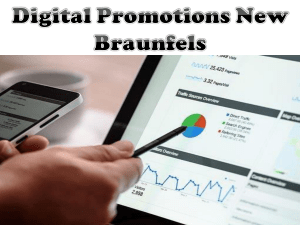 Digital Promotions New Braunfels