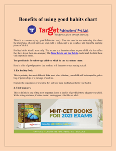 Benefits of using good habits chart-converted