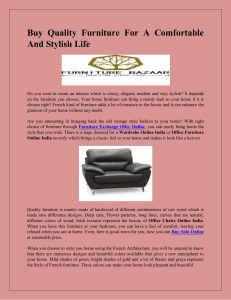 Buy Quality Furniture For A Comfortable And Stylish Life-converted