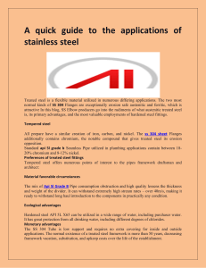 A quick guide to the applications of stainless steel-converted
