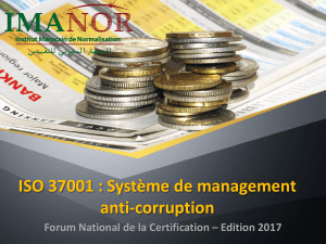ISO-37001 -Anti-corruption FNC2017