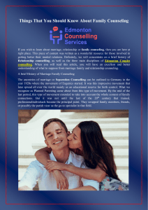 Things That You Should Know About Family Counseling (1)