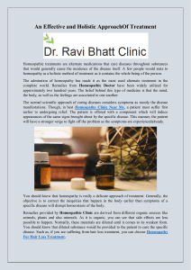 An Effective and Holistic Approach Of Treatment
