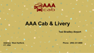 Taxi Middletown Ct by AAA Cab LLC