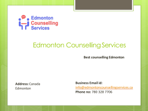 Anger Management by Edmonton Counselling Servcies