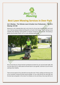Best Lawn Mowing Services in Deer Park