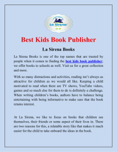 Kids Book Publisher
