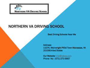 Driving School In Alexandria Va