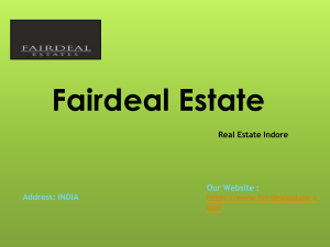 Commercial Property In Indore by Fairdeal Estate