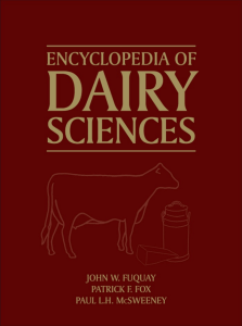 Encyclopedia of Dairy Sciences