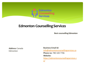 Gambling Addiction counselling by Edmonton Counselling Servcies
