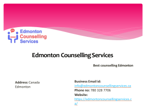 Alcohol Addiction counselling by Edmonton Counselling Servcies