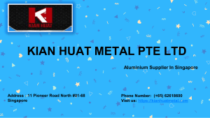 Steel Supplier Singapore  KIAN HUAT METAL PTE LTD