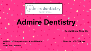 Family Dentistry by Admire Dentistry