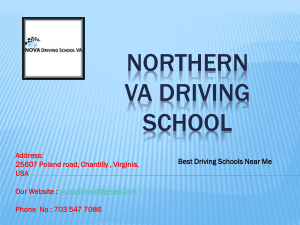 Behind The Wheel Driving Lessons by Nova driving school