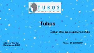 Stainless Steel Capillary Tube Manufacturers India by Tubos