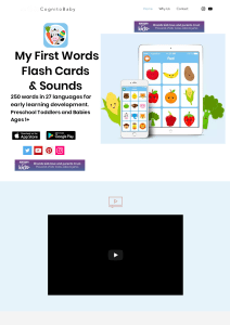 Educational app for kids
