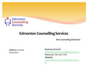 PTSD counselling by Edmonton Counselling Servcies