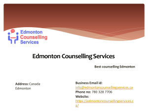 Drug & Alcohol Testing by Edmonton Counselling Servcies